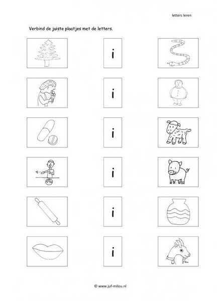 Taal - I letter verbinden 2