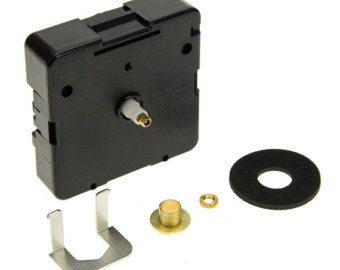 Clock Kit  SHORT Shaft Battery Quartz Clock Movement with 3