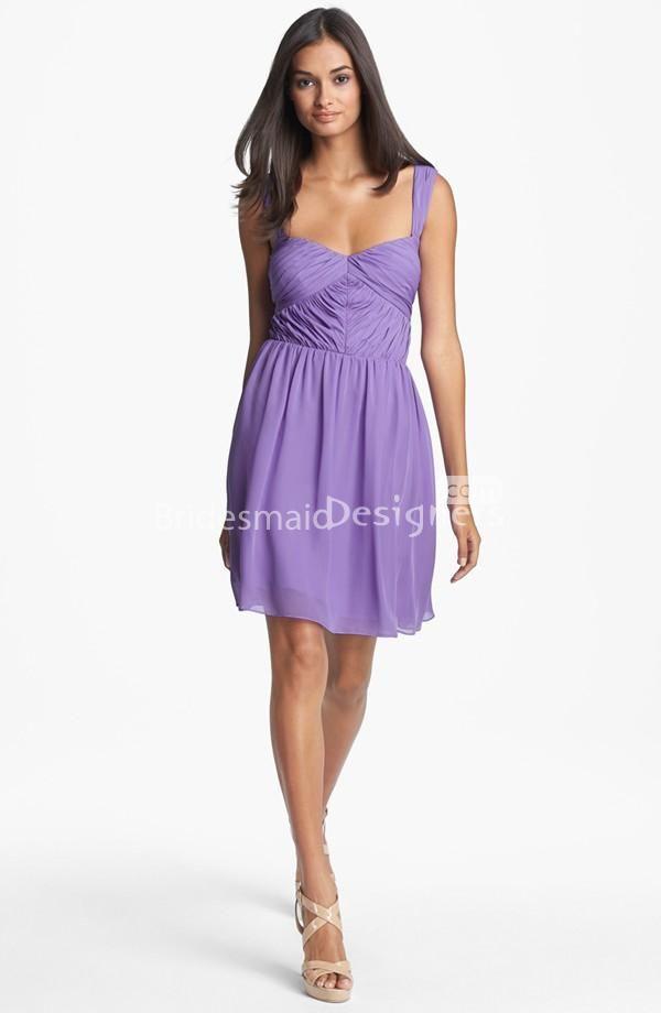19 best Purple Bridesmaid Dresses images on Pinterest | Short ...