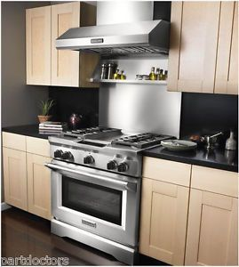 new kitchenaid 36 quot  wide stainless steel backsplash
