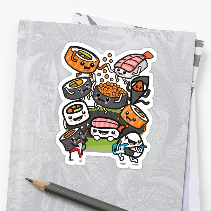 Sushi Rock! • Also buy this artwork on stickers, apparel, phone cases, and more.