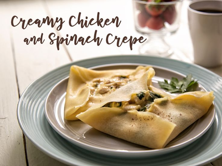 Sometimes we want savory over sweet when it comes to breakfast, and these creamy stuffed crepes are the best way to put a smile on Mom's face this Mother's Day. Ingredients: Makes 12 crepes Crepe Batter 1 cup flour 1 cup milk 4 eggs 1 tablespoon melted butter ½ teaspoon salt Chicken Florentine 3 tablespoons butter 2 boneless, skinless chicken breasts 2 cloves garlic ½ cup milk 10 ounces cream of chicken soup ¼ cup cheddar cheese (or preferred type) 6 ounces fresh spinach Parmesan cheese, ...