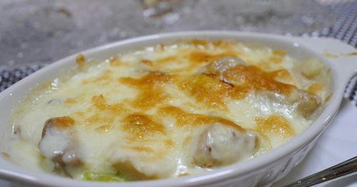 チキンとネギのグラタン by みさカフェ [クックパッド] 簡単おいしいみんなのレシピが252万品