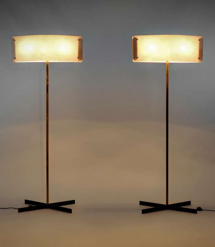 Pierre Disderot; Floor Lamps for Disderot, 1955.