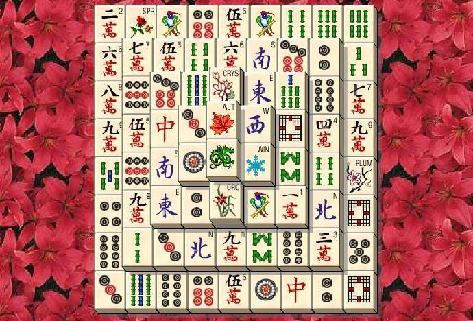 Das Zielsetzung des Mahjong Solitaire online spiele