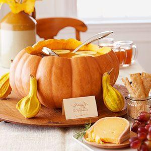 How to Make a Pumpkin Punch Bowl