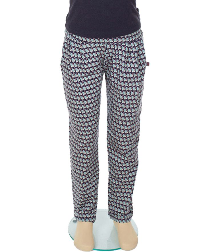 Froy & Dind crazy cool pants with swan print. froy-en-dind.en.emilea.be