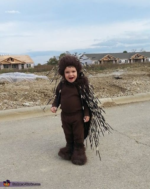 Deanna: I wanted to make my two year old son a costume that was original a cute before he got to the age where he didn't want me to, so the...