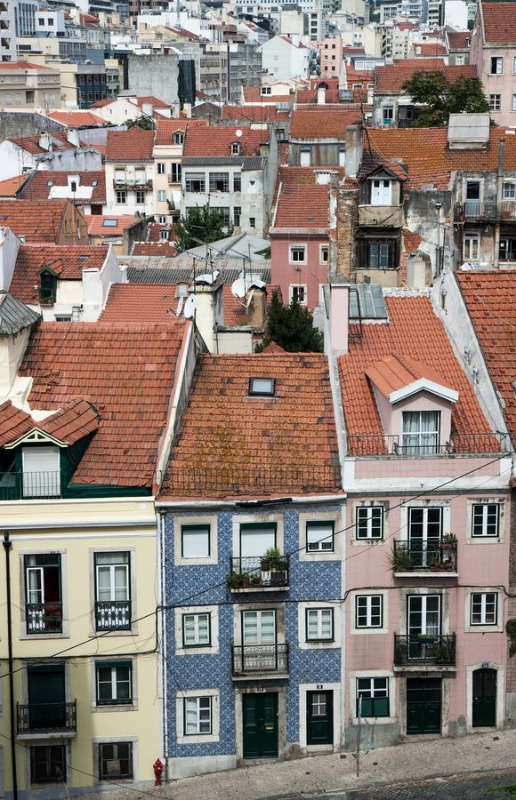 Lisbon, Typical district #Portugal