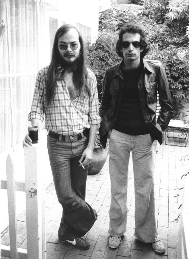 Walter Becker and Donald Fagen of Steely Dan 1977 http://ift.tt/2eAvjTw