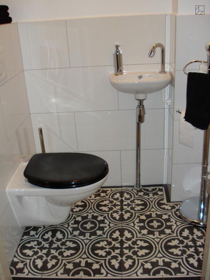 zementfliesen vn negra 12 toilette