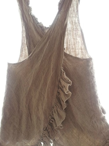 Magnolia Pearl Linen Apron Top. gorgeous and i'd like to make one!