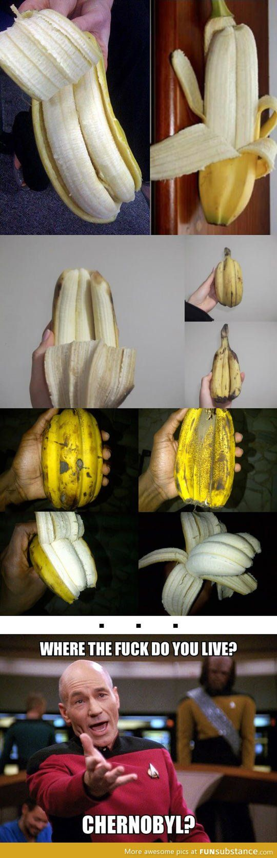 That's some serious banana mutations right there.