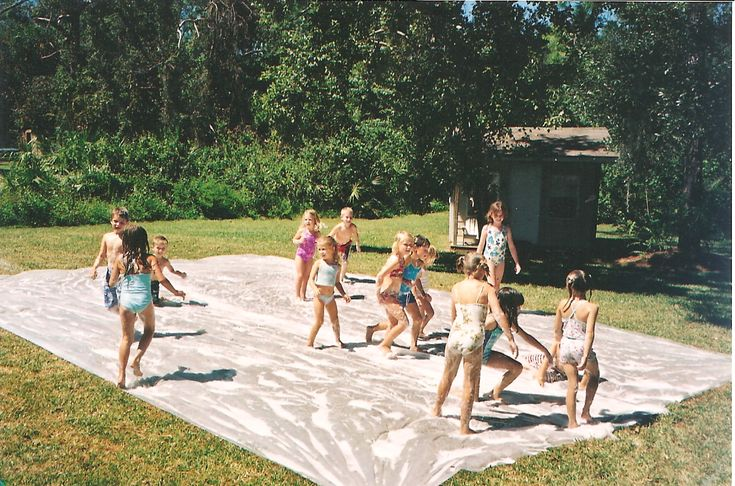 Giant slip n slide