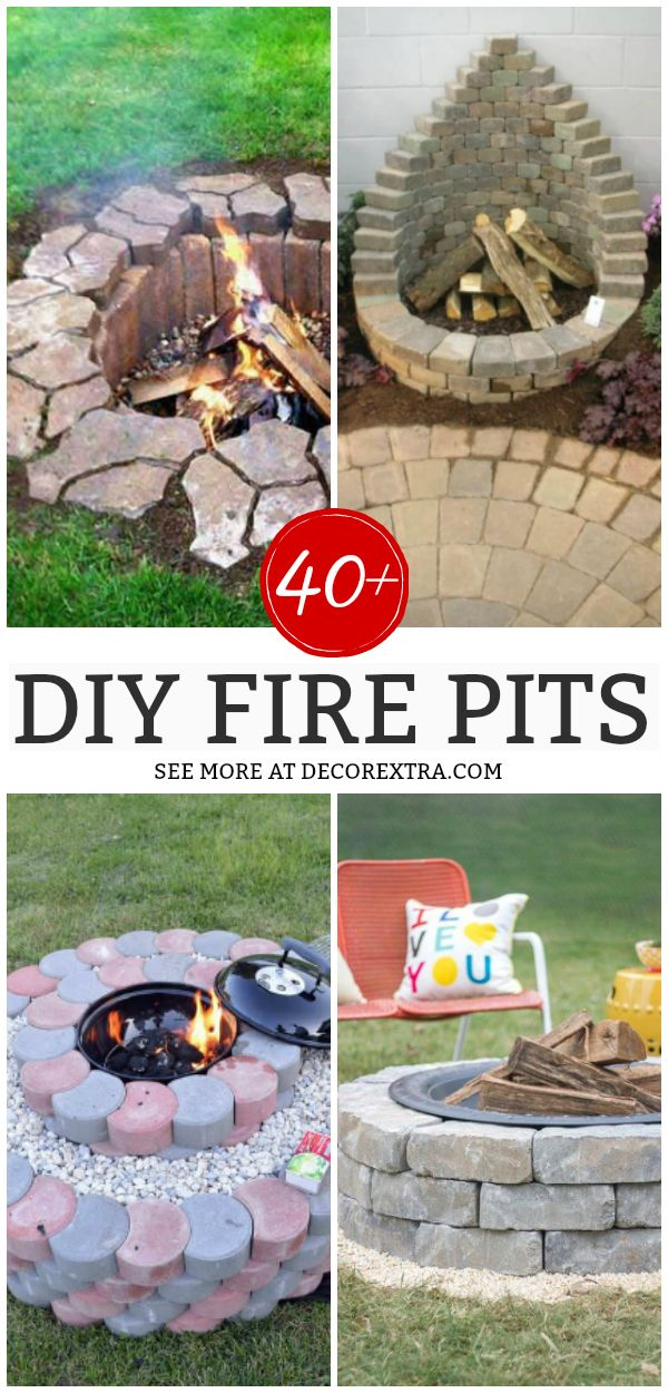 45 Best Diy Fire Pit Ideas And Designs Outside Fire Pits Fire