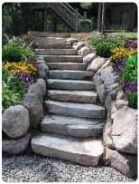 steps: Outdoor Gardens Ideas, Outdoor Steps, Outdoor Creations, Outdoor Cement Rocks