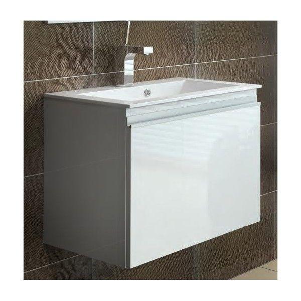 Szafka pod umywalkę 50 cm Elita Meble Rennel New biała 164558
