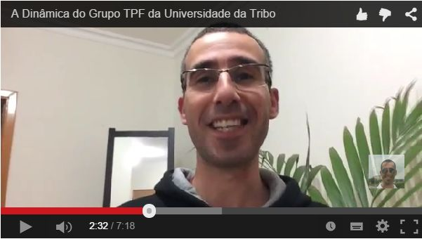 Mas afinal o que é o TPF?  Sabe tudo no vídeo aqui: http://jorgeparracho.tumblr.com/post/114571608493/grupo-do-tpf-da-universidade-da-tribo-novo-video