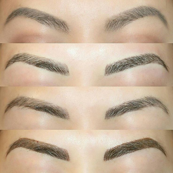 Got my brows tattooed with artistryofangelalin this is