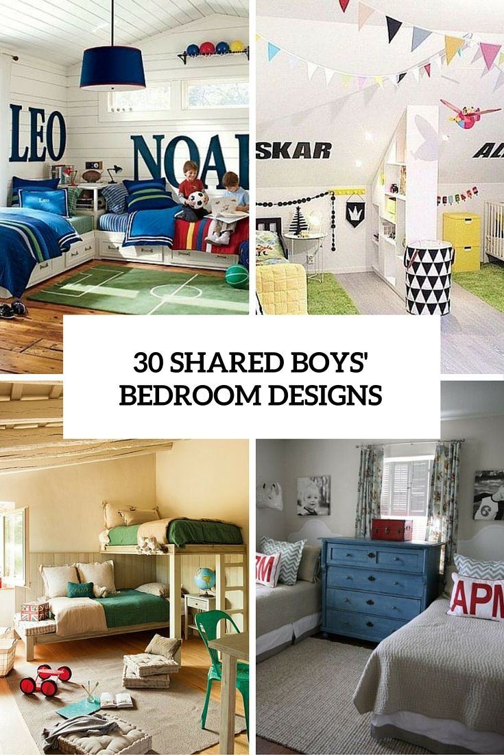 30 shared boys bedroom designs cover