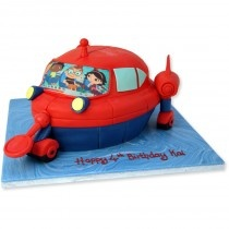 Cakes for Small Children and Toddlers Cakes delivered all over London.