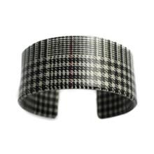 "1 1/4"" Cuff - Glen Plaid"
