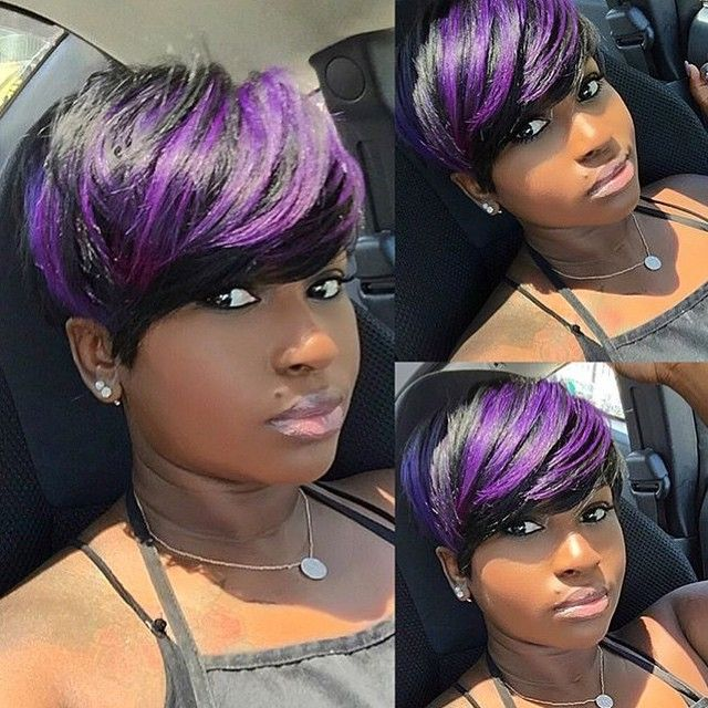 violet hair styles purple hairstyles for black hair hair 8557