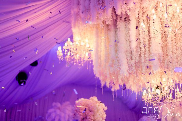 световое шоу на свадьбе в шатре