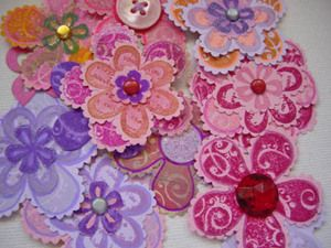 Rubber Stamping Ideas: How to Make Paper Flower Embellishments for Scrapbook Layouts and Cards - Yahoo! Voices - voices.yahoo.com