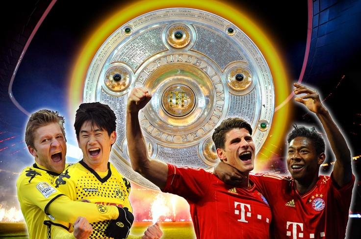 Dortmund gegen Bayern. Das rockt! Wird das die vorzeitige Meisterschaftsentscheidung in der deutschen Bundesliga? Heute, 11.04.2012 um 20:00 im Signal Iduna Park. © by GEPA pictures