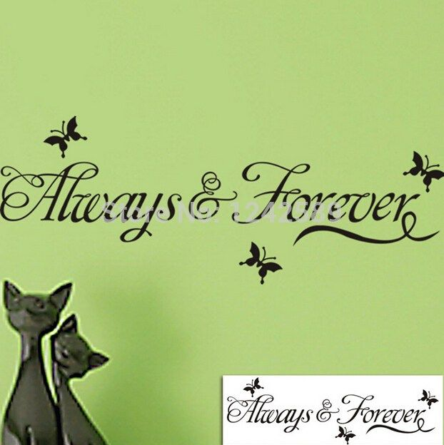 quotes promotion online shopping promotional love quotes heaven quotes wall decals wall stickers
