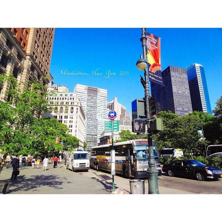 お散歩 #Manhattan / #NewYork #NY #NYC #America #BatteryPark #downtown #July #2011 #summervacation #studyabroad #park #マンハッタン #ニューヨーク #アメリカ #留学 #海外 #海外生活 #夏休み #バッテリーパーク #公園 #散歩 #街並み by worldtrip375