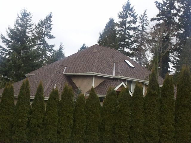 Woodinville Roofing Companies Talk About Perfect Woodmoor Composition  Shingle Install   Roofing Company Kirkland   Roofing