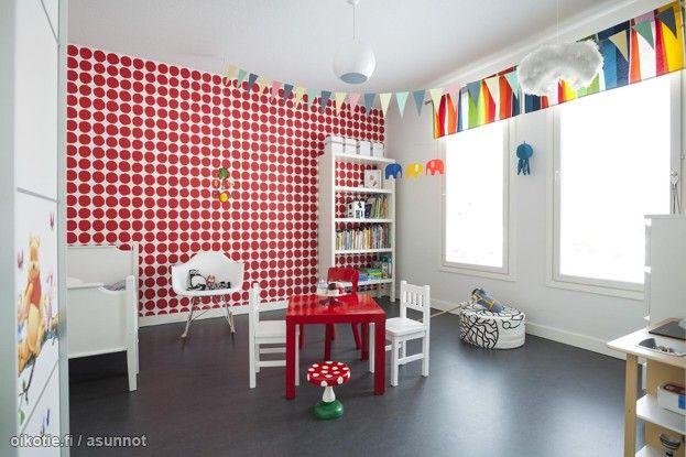 Myytävät asunnot, Mäkiläntie 32, Masku #koti #home #lastenhuone #kidsroom