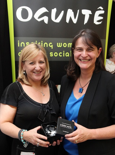 Winner of the Award for Campaign Leader 2012 for her work with Symphonia for South Africa, Louise van Rhyn