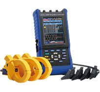 Hioki 3197 Power Quality Analyzer Monitor for: Inrush current, Voltage swell, Voltage dips, Transient over-voltage, Interruptions
