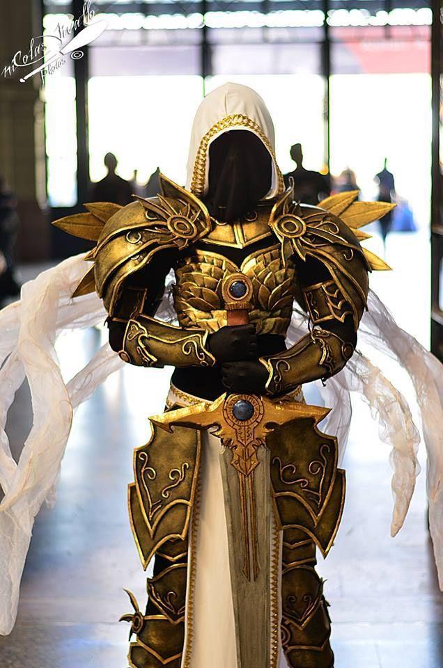 Cosplayer: Fauna Cosplay Character: Genderbender Tyrael From: Diablo III