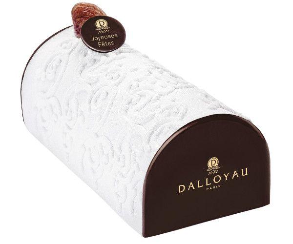 Bûche blanche comme Neige - Dalloyau