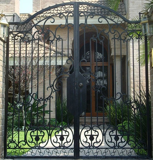 59 Best Images About Wrought Iron Gate Designs On