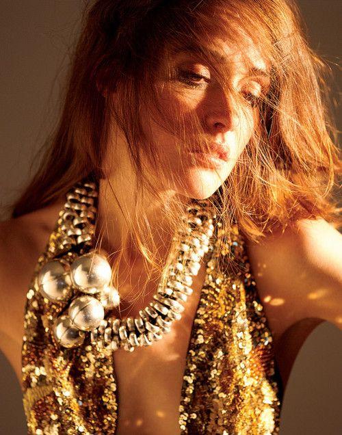 Rose Byrne golden