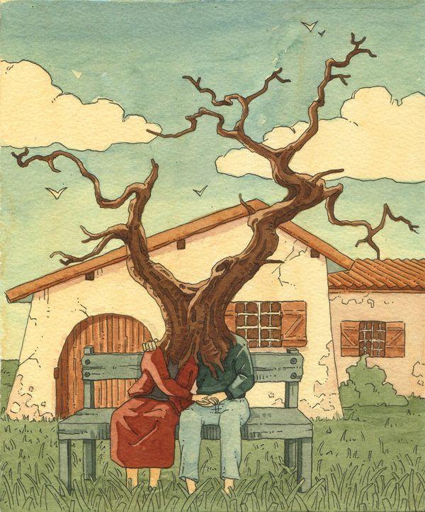 Human tree by Uehara on deviantART