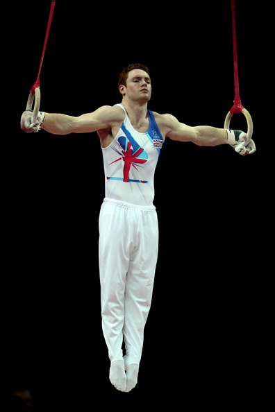 Daniel Purvis!!!  FIG Artistic Gymnastics Olympic Qualification - LOCOG Test Event for London 2012: Day One