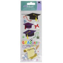 A Touch Of Jolee's Graduation Dimensional Stickers Pack