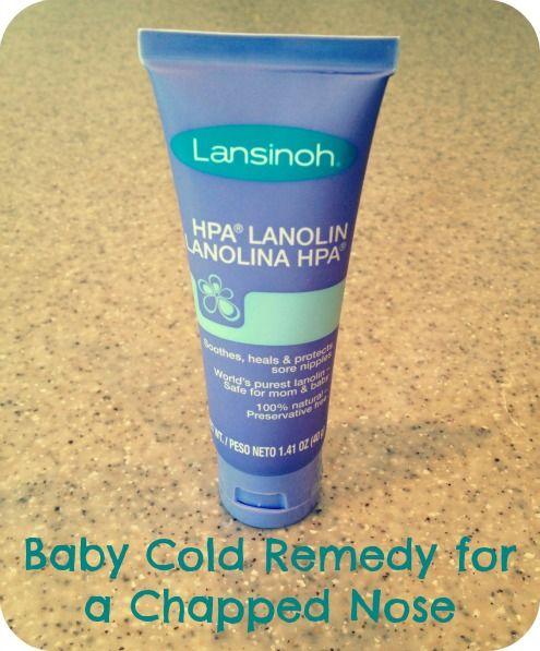 My Favorite Baby Cold Remedy for a Chapped Nose on TodaysMama.com #baby #kids #coldremedy