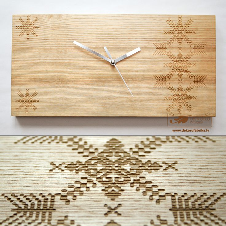 Clock With Latvian Signs http://www.dekorufabrika.lv/lv/online-store/details/90/66/suven%C4%ABri-un-d%C4%81vanas-souvenirs-and-gifts/latvju-raksti-ancient-latvian-signs/pulkstenis-