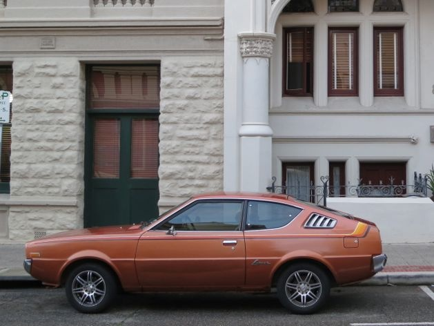 Fighting for sanity in your city - sort of - A Beautiful City - Chrysler Lancer on High Street, Fremantle, Australia