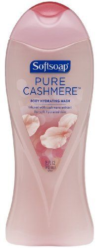 Softsoap Pure Cashmere Body Hydrating Wash, 15-Ounce Bottles (Pack of 6) by Softsoap. Save 30 Off!. $20.94. Pack of 6. Infused with cashmere extract for soft, hydrated skin. Ever notice how great it feels to run your fingers over soft, luxurious cashmere? Too bad our skin can't be that soft - or can it? Softsoap brand Pure Cashmere takes on the challenge! Enriched with ca
