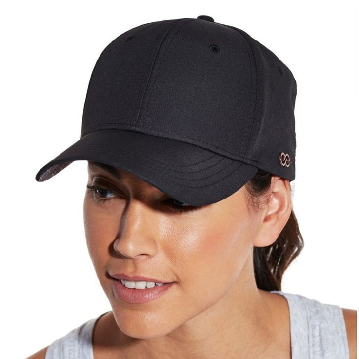 Calia by Carrie Underwood Women's Printed Visor Hat, Black