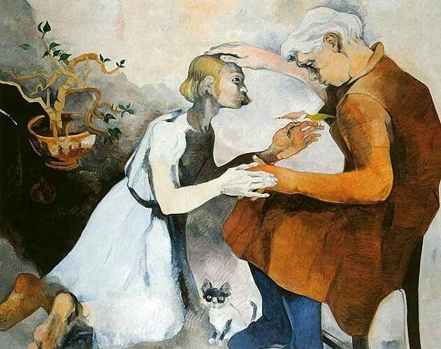 Neşe Erdok, Hayırsız Evladın Dönüşü, 150x180 cm, 1995