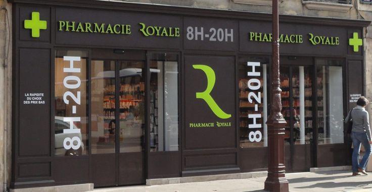 extérieur rénovation Pharmacie Royale